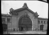 Entrance to Cunard Lines' Pier 54, North River, undated (ca. November 1916).