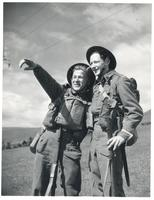 Two Polish Infantrymen in Great Britain