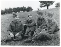 A Group of Teenage Boys of the Polish Armed Forces in Great Britain