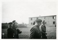 A Group of Polish Soldiers in Front of a Building