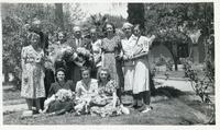 A Group of Polish Refugees at a Resort in the Middle East