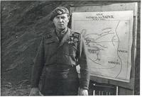 General Bohusz-Szyszko Standing by a Map