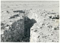Trenches in the desert near Gazala