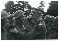 Sikorski Inspecting Troops in Scotland (2)