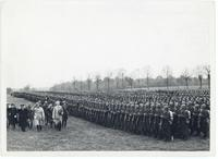 General Sikorski and President Raczkiewicz visiting the Polish Army in France