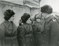 General Sikorski in Russia, talking to the polish A.T.S.