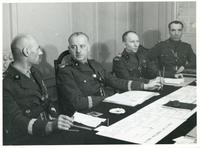 General Sikorski- Briefing of the Generals (Anders, Klimecki, Modelski)