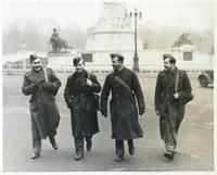 Polish Soldiers Visiting London