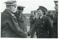 General Sikorski Awards the Virtuti Militari to an Aviator's Wife