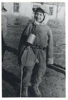 Polish Child in a Winter Suit