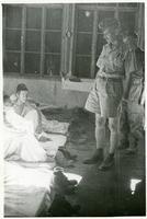 General Anders at a Military Hospital in Iran