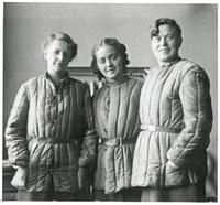 Group Photos of the Polish Women's Auxiliary Service in the Soviet Union