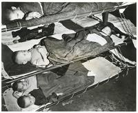 Polish Orphans Sleeping on Their Way to New Zealand from India