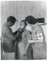 A Boy Undergoing his First Medical Tests