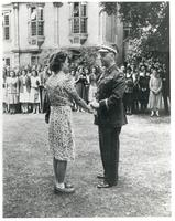 General Sikorski Decorates M. Wisniewska