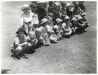 A Group of Polish Children a Few Months after Arriving from Soviet Russia