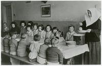 Children in a Cafeteria Run by Nuns