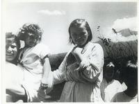 Three Girls after their Arrival from Exile