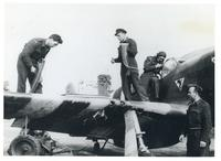 Loading Ammunition and Cleaning the Rifle in a Polish Fighter Plane