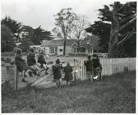 A Group of Polish Children After Arriving in New Zealand