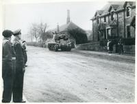 General Eisenhower Visiting the Polish Army in Scotland