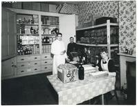 Stockroom of the Polish Red Cross