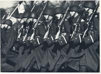 Polish infantry marching