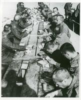 Anders' Army's First Meal in Iran