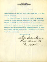 Correspondences and resolutions permitting construction of Staten Island Electric Railroad