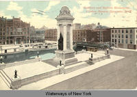 Soldiers and Sailors Monument, Clinton Square, Syracuse, New York [front caption] (1front) [e0228ac1]