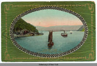 HUDSON RIVER. SOUTHWEST FROM WEST POINT. [front caption] (1front) [h0100ac1]