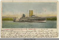 "Hudson River Day Line Steamer, ""New York."" (1front) [h0068ac1]"