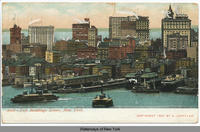 Tall Buildings, Lower, New York.[front caption] (1front) [h0083ac1]