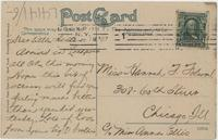 Erie Canal from Prospect Street, Lockport, N.Y. [front caption] (2back) [e0190ac2]
