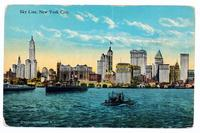 Sky Line, New York City. [front caption] (1front) [h0116ac1]