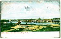 Hudson River Panorama, Troy, New York [front caption] (1front) [h0153ac1]