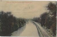 Erie Canal from Prospect Street, Lockport, N.Y.[front caption] (1front) [e0190ac1]