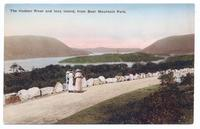 The Hudson River and Iona Island, from Bear Mountain Park. [front caption] (1front) [h0113ac1]