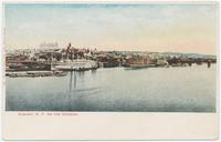 ALBANY, N.Y. ON THE HUDSON. [front caption] (1front) [h0142ac1]