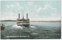 Lake Champlain at Burlington, Vt. [front caption] (1front) [c0057ac1]