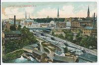 VIEW OF LOCKS, LOCKPORT, N.Y.[front caption] (1front) [e0515ac1]