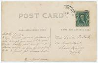 ERIE CANAL PORT BYRON. N.Y. [handwritten front caption] (2back) [e0540ac2]