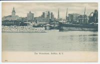 The Waterfront, Buffalo, N.Y.  [front caption] (1front) [e0520ac1]