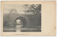 THE AQUEDUCT, MEDINA, N.Y. [front caption] (1front) [e0504ac1]