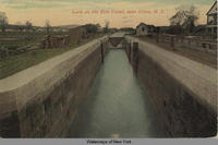 Lock on the Erie Canal, near Utica, N.Y. [front caption] (1front) [e0234ac1]