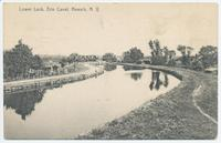 Lower Lock, Erie Canal, Newark, N.Y. [front caption] (1front) [e0525ac1]