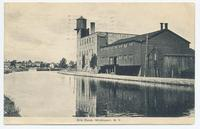 Erie Canal, Middleport, New York [front caption] (1front) [e0523ac1]