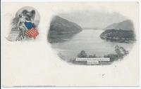 The Hudson River Looking North From West Point. [front caption] (1front) [h0185ac1]