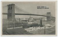 NEW YORK & BROOKLYN BRIDGE [portion of front caption] (1front) [h0179ac1]