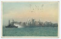 LOWER NEW YORK FROM THE BAY [front caption] (1front) [h0178ac1]